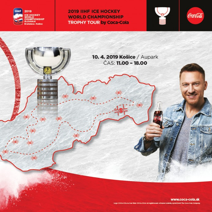 2019 IIHF ICE HOCKEY WORLD  CHAMPIONSHIP TROPHY TOUR