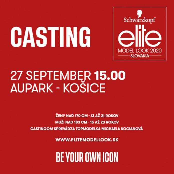 Casting ELITE Model Look Slovakia