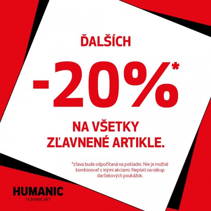 b4be8dc03e06 Finálny výpredaj v Humanicu! - Aupark Košice